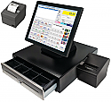 "Tablet POS System 15"" - Package D (Cafe, Restaurant, Fast Food, Hospitality - with Kitchen Printer)"